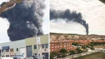 Взривове в химически завод край Мадрид, ранени са най-малко 15 души