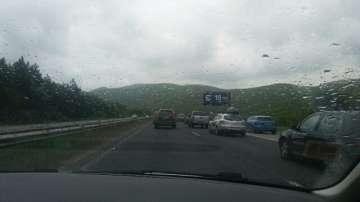Задръстване по магистрала Хемус
