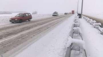 Непочистен участък от магистрала Марица създава предпоставки за катастрофи