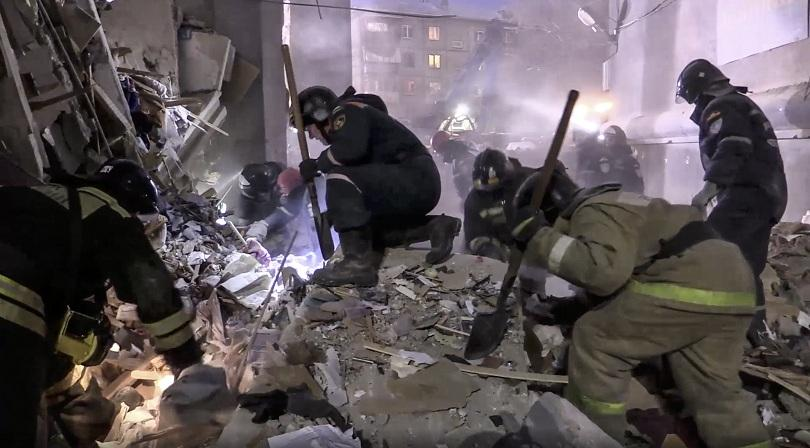 Загиналите при рухването на част от жилищен блок в руския