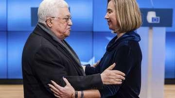 Палестинският президент Махмуд Абас призова ЕС да признае държавата Палестина