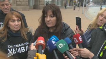 Протестът на майките продължава, докато не бъде гласувана оставката на Симеонов