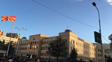 Фейсбук и протестите в Македония