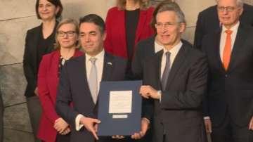НАТО прие и Северна Македония