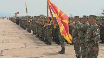 За първи път македонски специални части на днешния парад