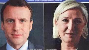 Франция преди дебата Марин Льо Пен - Еманюел Макрон