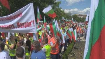 Превозвачи протестираха срещу новите транспортни европейски правила