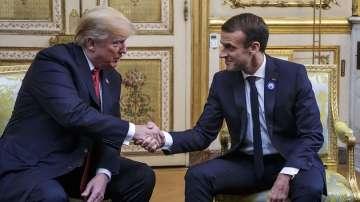 Макрон съгласен с Тръмп, че Европа трябва да плаща повече за отбрана