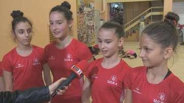 Липса на пари спира успехите на състезателите ни по естетическа гимнастика