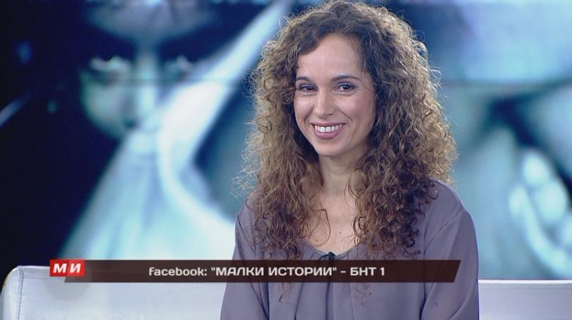 """Ирен Леви, """"Малки истории"""" по БНТ 1"""