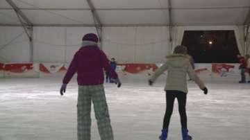 Малките репортери на БНТ на ледената пързалка на езерото Ариана