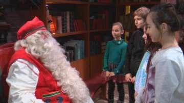 Ексклузивно интервю на малките репортери на БНТ с Дядо Коледа