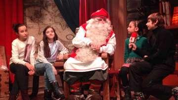 Малките репортери на БНТ пяха и танцуваха с Дядо Коледа в Лапландия