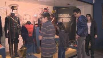 Малките репортери в Националния военноисторически музей