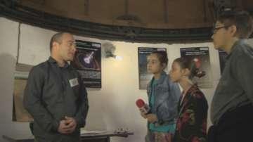 Малките репортери на БНТ в обсерваторията на СУ