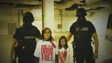 Малките репортери на БНТ в акция срещу трафика на наркотици