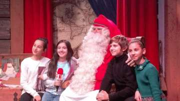 Гледайте филма Вълшебен ден: Малките репортери при Дядо Коледа в Лапландия