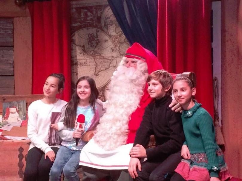Вълшебен ден: Малките репортери при дядо Коледа в Лапландия