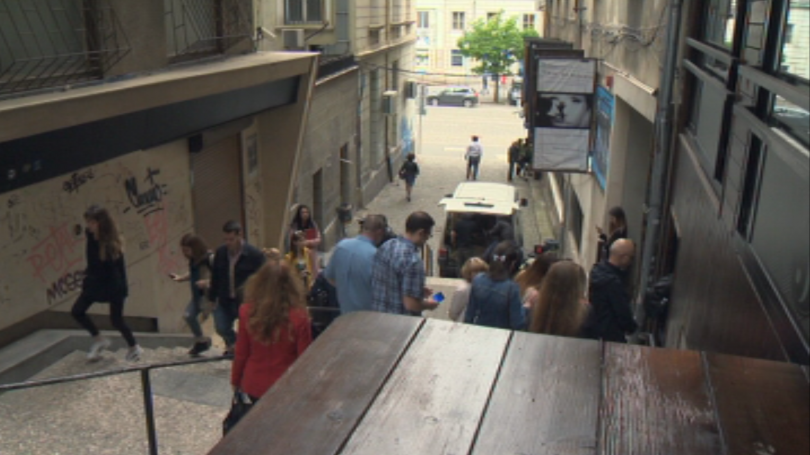 Най-късата пешеходна улица в София -