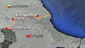 Няма опашка от чакащи на ГКПП Малко Търново