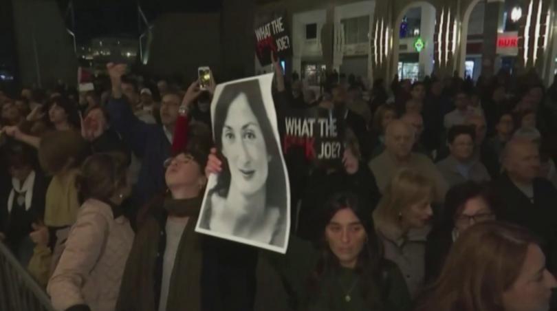 Повече от 2000 души участваха в протест в малтийската столица