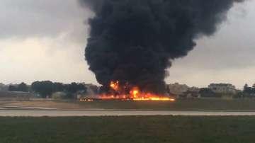 Петима французи загинаха при авиокатастрофата в Малта (СНИМКИ)