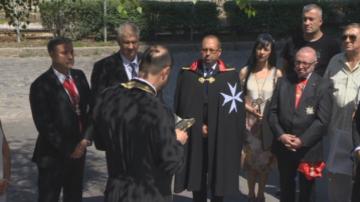 Малтийски орден дари линейка на Пирогов