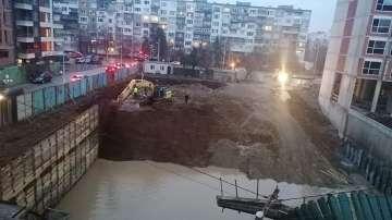 Лошо укрепен изкоп се срути в столичния квартал Манастирски ливади