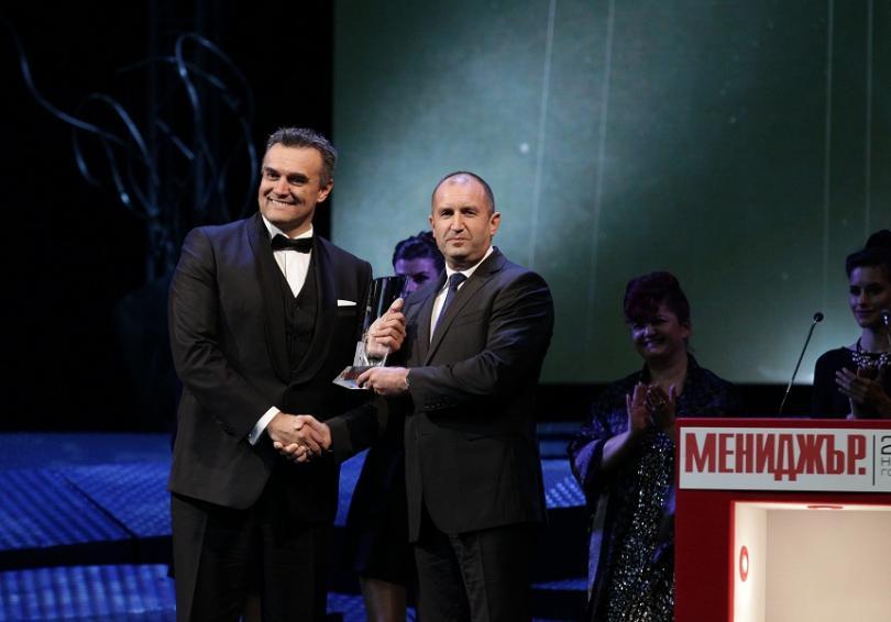 """С наградата """"мениджър на 2018 година"""" беше отличен изпълнителният директор"""