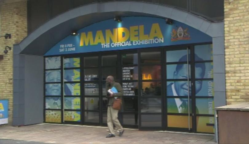 Снимка: В Лондон показват наследството на Нелсън Мандела