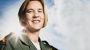 Летящата Манди - британката пилот на изтребител