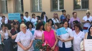 Омбудсманът подкрепи протестиращите медици във Видин