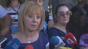 Мая Манолова обявява до часове дали ще се кандидатира за кмет