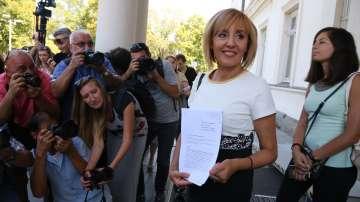 Мая Манолова подаде оставка като омбудсман, влиза в битката за София