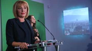Мая Манолова представи програмата си за управление на София