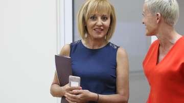 Очаква се днес Мая Манолова да подаде оставка като омбудсман