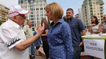 От БСП в София решават дали да подкрепят Мая Манолова за кмет