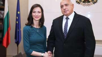Бойко Борисов се срещна с Мария Габриел
