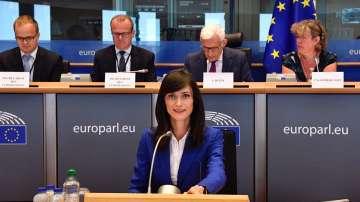 ЕП ще гласува номинацията на Мария Габриел за еврокомисар