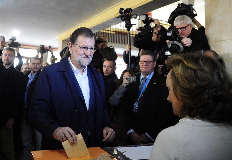 партията мариано рахой печели изборите испания