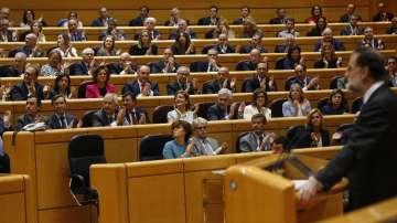 Испанският сенат гласува ограничаване на автономията на Каталуния