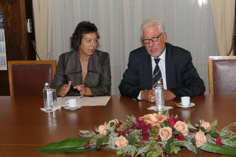 снимка 4 Младен Маринов се срещна с почетния ни консул в провинция Хесен