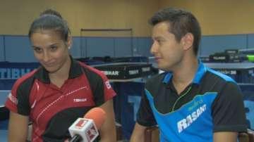 Шампиони по тенис на маса - една двойка в спорта и любовта