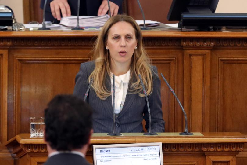 Марияна Николова е новият вицепремиер по икономическата и демографската политика