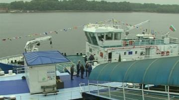 Нов маркиращ кораб ще обозначава река Дунав с плавателни знаци