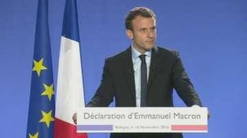 Еманюел Макрон се кандидатира за президент на Франция
