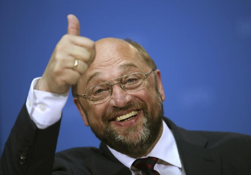 Председателят на Германската социалдемократическа партия Мартин Шулц ще замени Зигмар