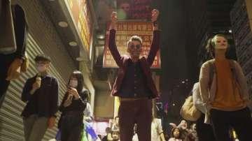 Протест с маски за Хелоуин в Хонконг
