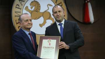 Четири компании и депутатът Йордан Цонев получиха Златни мартеници