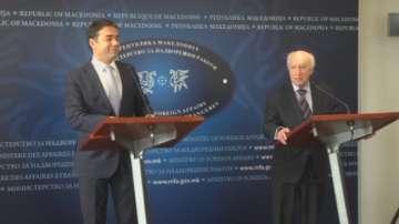 Матю Нимиц в Атина и в Скопие